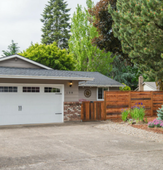 This Just Listed Oregon City Home has a Beautifully Finished Yard